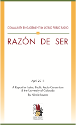 Razon de Ser Community Engagement in Latino Public Radio